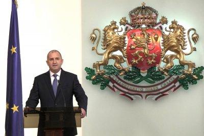 Румен Радев представи служебния кабинет, министрите се заклеха