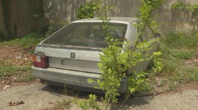 В Благоевград започна отстраняването на излезли от употреба автомобили