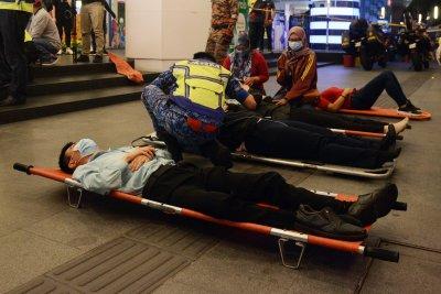 Над 200 души са ранените след тежката влакова катастрофа в Малайзия