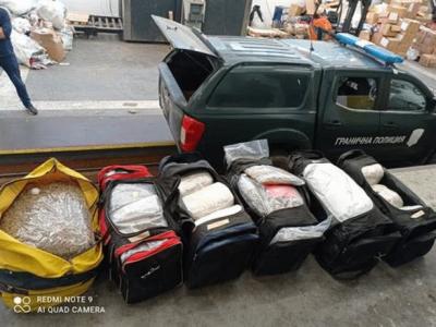 Граничари откриха над 95 кг марихуана в Свиленградско