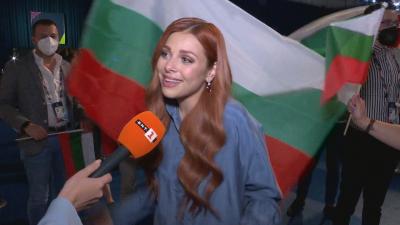 """Виктория след успеха: Готова съм за финала на """"Евровизия"""""""