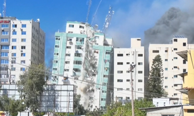 "Израелската армия унищожи сграда с офиси на АП и ""Ал Джазира"" в Газа (ВИДЕО)"