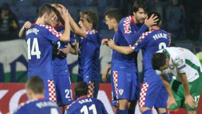 Обявиха разширения състав на Хърватия за европейското първенство