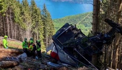 Няма данни за пострадали българи при инцидента с кабинков лифт в Италия