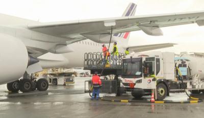 """""""Ер Франс"""" използва олио в горивото за дълъг полет"""