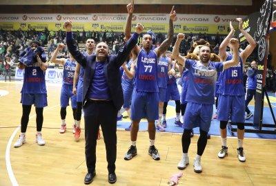 Левски Лукойл надигра тактически Рилски спортист и поведе в серията