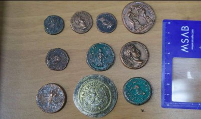 Предмети с белези на артефакти са открити при обиска на кабинета на Папалезов