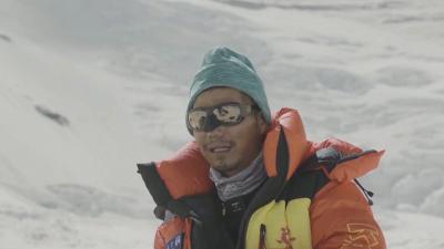 Незрящ китаец изкачи Еверест