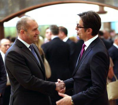 Ключова визита: Президентите на България и РС Македония заедно почитат Светите братя в Рим