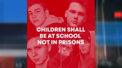 Кампания #ПодкрепямБеларус за освобождаване на деца политически затворници