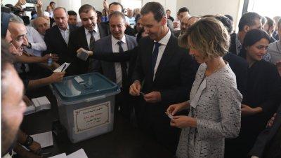 В Сирия гласуват на президентски избори