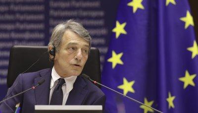 Председателят на ЕП: Санкциите срещу Русия да бъдат засилени