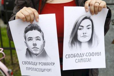 Приятелката на опозиционера Роман Протасевич е арестувана за два месеца