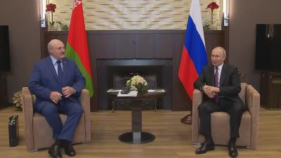 Путин и Лукашенко се срещат в Сочи