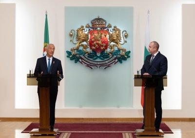 Интеграцията на РС Македония - основен акцент в срещата между президентите на България и Португалия