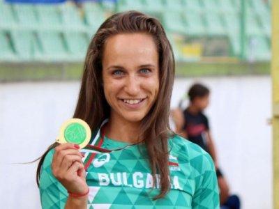 Инна Ефтимова втора на 100 м спринт в Гърция