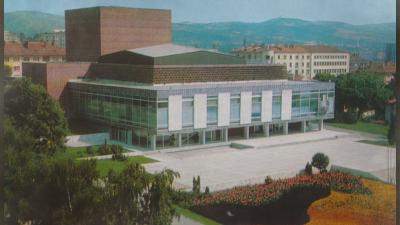 Сградата на Държавната опера в Стара Загора - архитектурно чудо на половин век