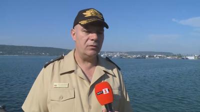 Командирът на ВМС: Открити са нови останки в Черно море, изследва се дали са от самолета