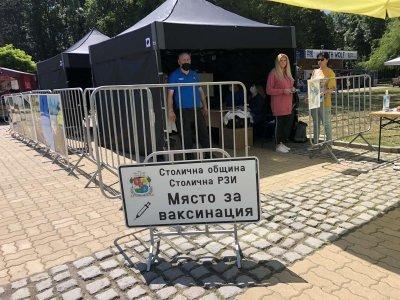 Ваксинация на открито и в Северния парк в София