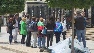 Отново протест пред Съдебната палата - искат оставката на Гешев