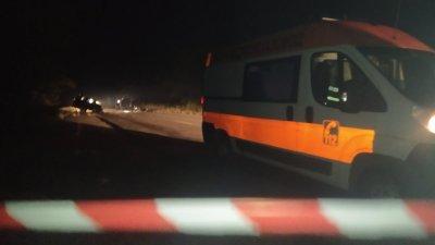 Два автомобила се удариха късно снощи на пътя Бургас - Средец