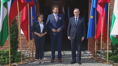 Вишеградската група се събра на работна среща в Полша