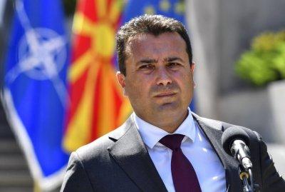 Зоран Заев идва на среща с президента и премиера