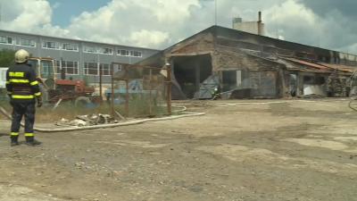 Овладян е пожарът в земеделска кооперация в Бяла