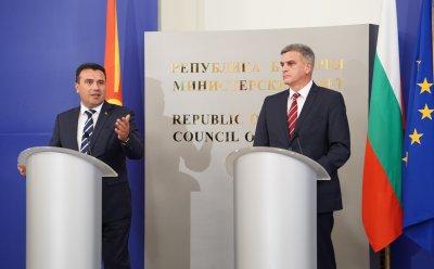 Премиерът Янев след срещата със Заев: Отговорността е на политиците