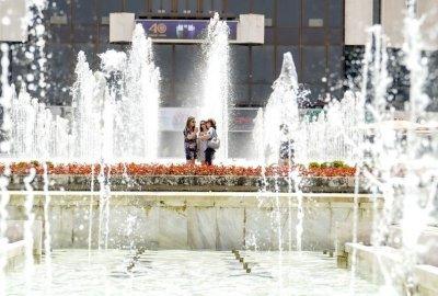 Горещото лято в София (Снимки)