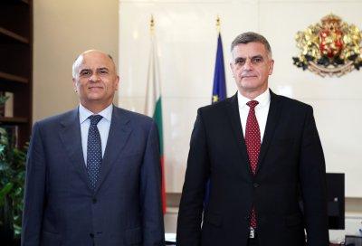 Премиерът обсъди с посланика на Гърция изграждането на газовия интерконектор