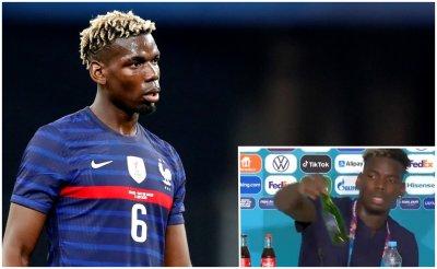 Пол Погба скри бира и поздрави майка си след мача с Германия