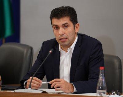 Кирил Петков: Дадох разпореждане всички завършени язовири да влязат в експлоатация