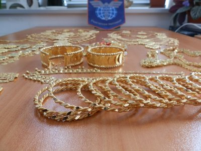 "Откриха контрабандни златни накити за над 500 000 лв. на ""Капитан Андреево"""