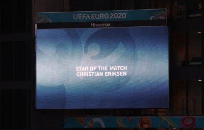 Играч на мача: Кристиан Ериксен