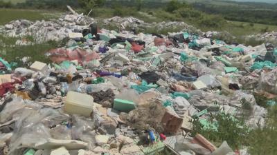 Разраства се незаконно сметище във Врачанско