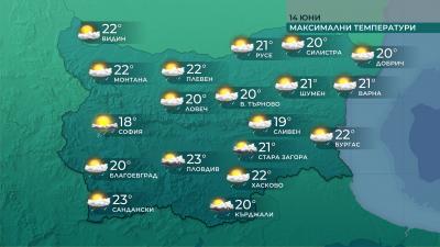 Днес остава студено, утре се затопля