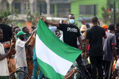 Протести с искане на оставката на президента на Нигерия