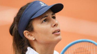 Пиронкова стигна втория кръг в Нотингам след 7 пропилени мачбола