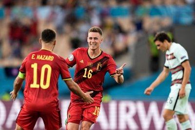 Феноменален гол на Торган Азар детронира Португалия от европейския връх