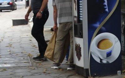 Кражба на кафеавтомати в Русе