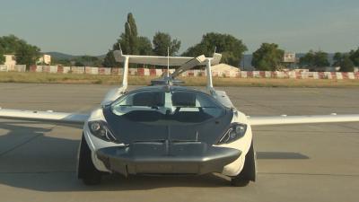 Летящ автомобил извърши полет между две летища в Словакия