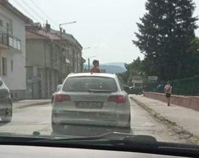 Безразсъдно возене на дете в Ботевград