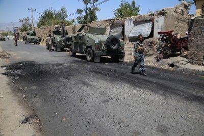 Офанзива на талибаните в Афганистан след изтеглянето на американските сили