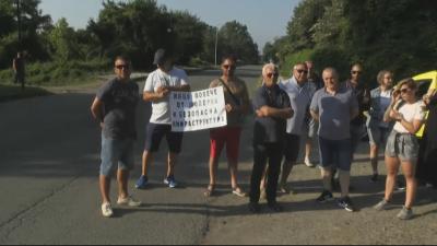 Протест на туристическия бизнес заради състоянието на пътя между Китен и Приморско