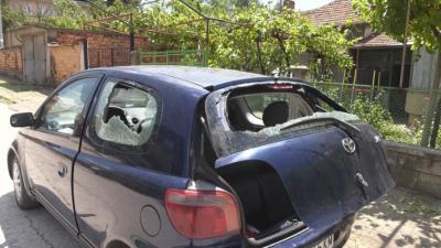 Все още уточняват щетите от бурята в Червен бряг