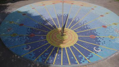 След 12 г. забвение слънчевият часовник в Шумен отново отмерва времето