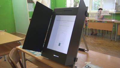 Проблеми с машините за гласуване в Бургас