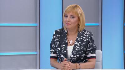 Мая Манолова: Мястото на дебат за бъдещ кабинет е българският парламент