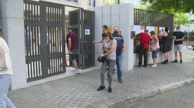 От нашите пратеници в Мадрид: Гласуването преминава спокойно